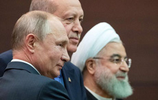 """Nga, Thổ, Iran """"xóa sổ"""" rào cản chính trị: Ngăn Ildib vỡ trận"""