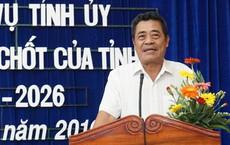 Bí thư Tỉnh ủy Khánh Hòa lấy lý do sức khỏe để xin nghỉ hưu trước tuổi