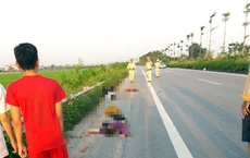 Xe máy gặp nạn trên quốc lộ 18, ba mẹ con tử vong, chồng nguy kịch