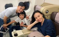 Chuyến du lịch đầu tiên của vợ chồng Cường Đô La - Đàm Thu Trang sau đám cưới, Subeo vô cùng hào hứng