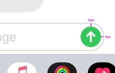 Phát hiện nút gửi tin nhắn trên iPhone bị lệch vài điểm ảnh, cộng đồng Designer từ Ta đến Tây than 'ai khóc nỗi đau này'
