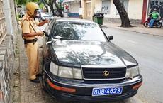 TP Hồ Chí Minh: Tạm giữ ô tô gắn biển số giả mạo xe của Báo Thanh tra