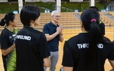 Tim Cook chúc mừng đội tuyển Thái Lan giành HCV SEA Games 30