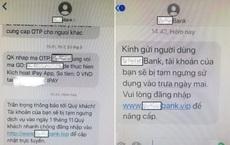 Bộ Công An cảnh báo thủ đoạn giả mạo tin nhắn ngân hàng lừa tiền người dân