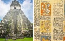 Giải được đoạn mật mã 800 năm tuổi để rồi dịch được sách cổ, nhóm nghiên cứu vén màn bí ẩn về nền văn minh Maya