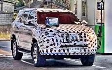 Hình ảnh mới nhất về chiếc Toyota Fortuner sắp ra mắt thị trường