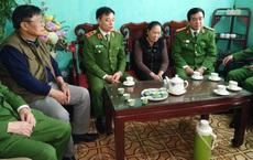 Trao gần 4 tỷ đồng tới gia đình 3 liệt sĩ hy sinh tại Đồng Tâm