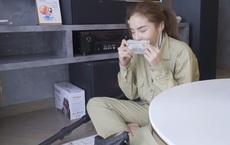 Dọn nhà đón Tết, Kỳ Duyên bất ngờ phát hiện cọc tiền USD dưới sàn