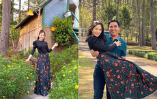 Khoe ảnh cả gia đình đi Đà Lạt nghỉ Tết, bà xã Quyền Linh gây trầm trồ vì nhan sắc tuổi tứ tuần quá xinh đẹp