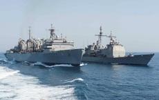 Hải quân Mỹ bắt giữ tàu Iran chất đầy tên lửa