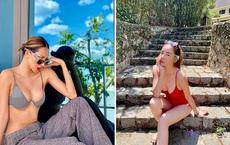Kỳ Duyên cùng người yêu tin đồn khoe ảnh bikini nóng bỏng khi đi du lịch chung