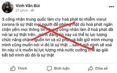 Tung tin công nhân Trung Quốc ở Hòa Phát nhiễm Covid-19, nam thanh niên nhận sai