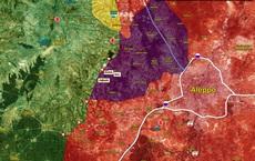 """NÓNG: QĐ Syria ồ ạt tấn công, uy hiếp """"thành trì"""" Darat Izza, toàn tuyến phòng thủ Idlib sụp đổ?"""