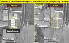 Israel không kích đánh sập sở chỉ huy đầu não của đặc nhiệm Iran ở Syria