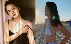 Phạm Quỳnh Anh mặc bikini, khoe vẻ gợi cảm ở tuổi 36