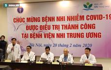 Bệnh nhi nhỏ tuổi nhất Việt Nam mắc virus corona khoẻ mạnh xuất viện