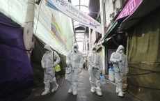 Hàn Quốc: 28.000 người có triệu chứng cúm ở tâm dịch Daegu sẽ được kiểm tra y tế