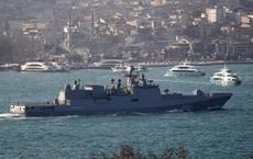 Thổ đe khóa yết hầu Bosphorus: Vây chặt tàu chiến Nga, chặn đường sống của QĐ Syria?