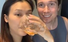 MC Hoàng Oanh tiết lộ nhà riêng và cuộc sống lãng mạn với chồng Tây bên Singapore