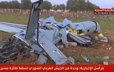 PK Syria tham chiến, thẳng tay bắn 1 máy bay UAV tấn công hiện đại của Thổ Nhĩ Kỳ tan xác