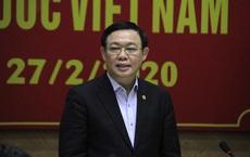 Bí thư Hà Nội Vương Đình Huệ: Phải nghiên cứu cách ly cả một khu phố nếu có dịch xảy ra