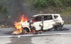 Hiện trường chiếc xe ô tô Xpander phát nổ khiến 2 người tử vong