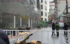 Hà Nội: Người phụ nữ rơi từ tầng cao chung cư xuống đất tử vong