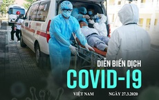 Dịch Covid-19 ngày 27/3: 3 ca trong số 10 ca mới liên quan đến bar Buddha, 3 ca liên quan bệnh nhân 133 tại Bệnh viện Bạch Mai