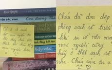 Nữ sinh thức đến 2h sáng viết lời nhắn đáng yêu gửi những người chuẩn bị đến cách ly