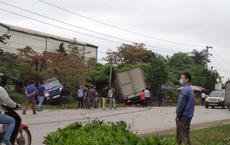 Vụ tai nạn liên hoàn giữa container và 3 xe tải - hiện trường sự việc gây xôn xao
