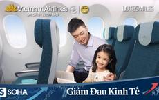 """Thưa khách, giảm tần suất vì Covid-19, Vietnam Airlines tung gói dịch vụ """"lạ"""""""