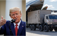 Lô hàng viện trợ mùa COVID-19 của Nga: Ông Putin ngỏ lời, ông Trump không ngần ngại đồng ý ngay