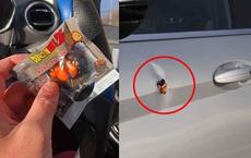 """Xe bị móp nhưng chưa có tiền sửa, chủ xe có cách xử lý khiến tất cả """"vỗ tay"""" trầm trồ"""