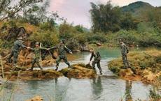 Đoàn Học viện Biên phòng tức tốc lên tuyến đầu biên giới, căng mình chống dịch