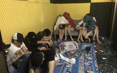 Bắt giam chủ khách sạn để 57 nam nữ tổ chức tiệc ma túy