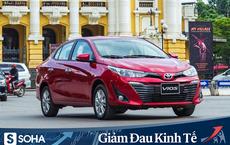 """Bán cả nghìn xe trong tháng Covid-19, Toyota Vios tiếp tục giảm giá """"câu"""" khách"""