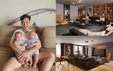 Sau khoảng thời gian đi thuê nhà, MC Thành Trung khoe căn hộ mới sang trọng, hiện đại