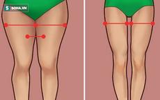 Mùa hè là phải đẹp: Cách để có đôi chân thon tròn giảm ngay 8cm chỉ trong một tháng