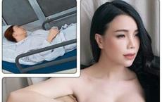 """Trà Ngọc Hằng bị tai nạn gãy răng, phải ghép xương nhân tạo: """"Tỉnh dậy là em òa khóc"""""""