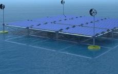 Thiết bị tái tạo điện năng từ cả sóng, gió và mặt trời