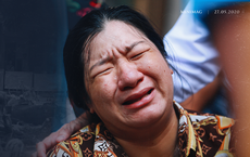 Bé trai tử nạn do cây đè: 'Mẹ về cho em bú. Mẹ sẽ chăm, thương em bằng cả tình thương của con nữa'
