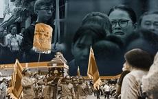 """Hàng trăm người gần xa khóc nức nở tiễn cậu bé tử nạn do cây đè """"đi học lần cuối cùng"""""""
