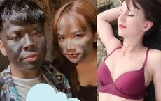 """Nhan sắc gợi cảm của hot girl Ukraine khiến Trung Ruồi mê mẩn trong """"Chuyện tình anh thanh niên"""""""