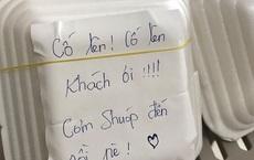 """Đặt ship đồ rồi nhắn nhủ: """"Cho mình nhiều cơm nha chứ mình đói xỉu rồi"""", cô gái bất ngờ khi nhận được phản ứng hết sức dễ thương từ quán"""