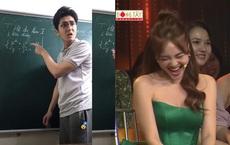 Thầy dạy toán gây bão mạng xã hội bất ngờ lên truyền hình, tán tỉnh Ninh Dương Lan Ngọc