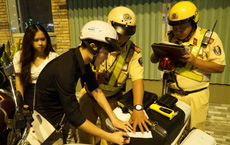 TPHCM: CSGT dốc toàn lực đảm bảo an toàn giao thông cho người dân đón Tết