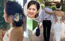 """Đám cưới siêu bí mật của """"Thánh nữ JAV"""" Aoi Sora gây bất ngờ: Mời 16 khách, chỉ rò rỉ 2 tấm ảnh hiếm hoi"""