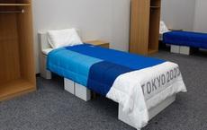 Nhật Bản trang bị giường bằng bìa cứng tại làng Olympic, vô cùng chắc chắn, chịu lực tải gần 200kg