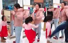 """Đi chợ Tết, con gái 5 tuổi đánh mẹ vì không được mua món đồ yêu thích, cách """"giải vây"""" của ông bố được đánh giá cao"""