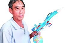 Xưởng sản xuất 'máy bay chiến đấu' độc nhất Việt Nam